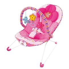 Baby Chair Swing Pink Target Glider Cushions Fisher Price Cosy Time Bouncer Vibrating