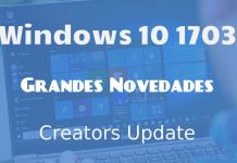 novedades Windows 10 creators update