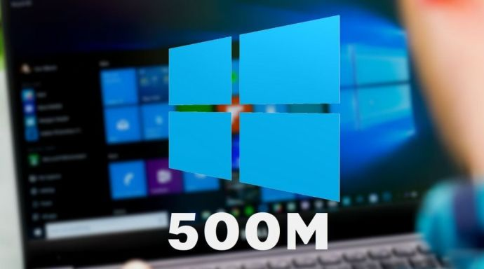 500 INSTALACIONES DE WINDOWS 10