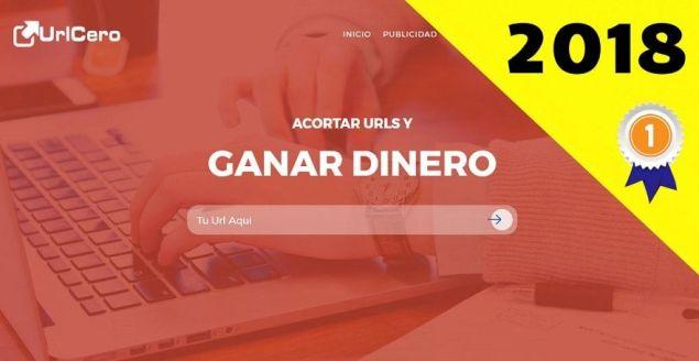 UrlCero el mejor acortador de links 2018