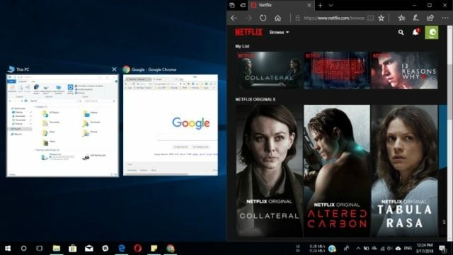Dividir pantalla en Windows10