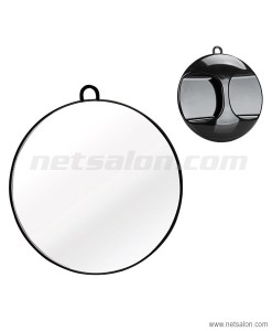 Hand Held Round Mirror Hung Up Hold Back Professional Barber Salon Hair Beauty