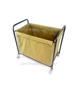 CLEANING JANITORIAL LAUNDRY TROLLEY HOTEL SCHOOL CLEANER