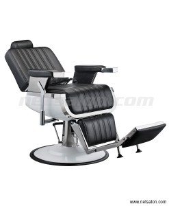 Faux Leather Black Barbers Chair