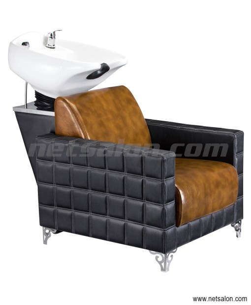 Backwash Unit Sink and Chair