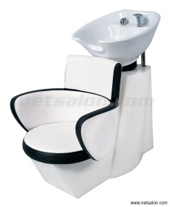 Ying Yang Salon Backwash Sink & Chair Unit