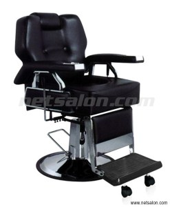 Black Shaving Barbers Chair Heavy Duty