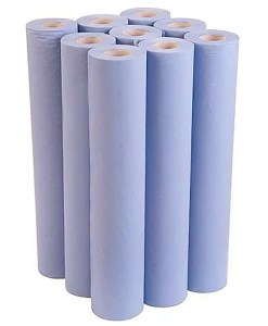 9 Eco Couch Rolls in Blue