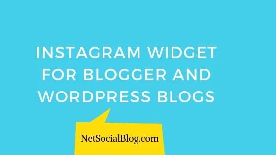 intagme alternative_ instagram widget for blogs
