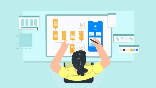 À quoi ressemblera l'application |  Développer une application mobile