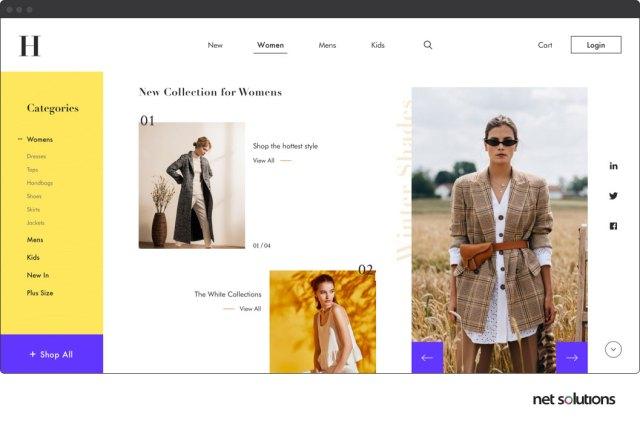 Créez des pages de destination de commerce électronique étonnantes pour vos visiteurs
