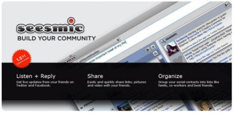 Seesmic Desktop, along with Tweetdeck, is one of the exciting Adobe Air desktop apps to try for Twitter.