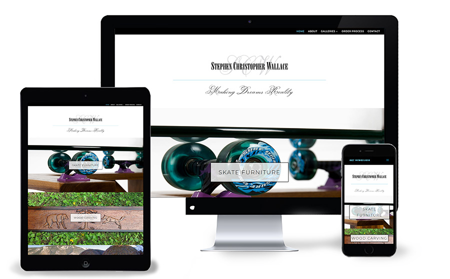 Press Release: Stephen Christopher Wallace Launches New Website