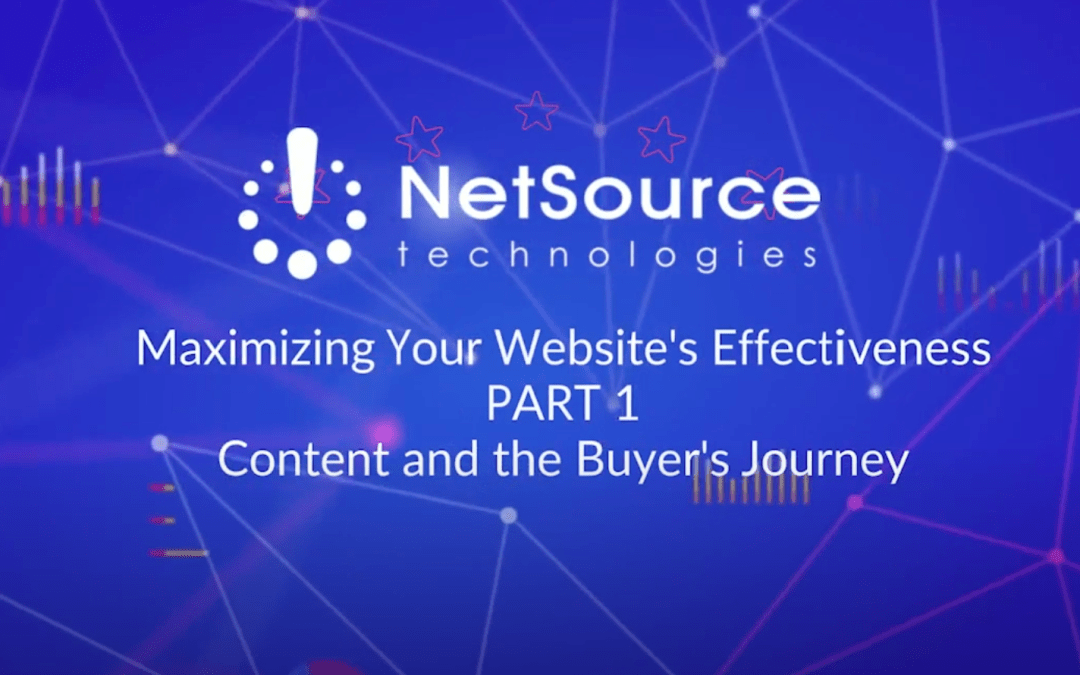 Free Webinar: Website Content and The Buyer's Journey