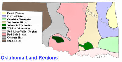Oklahoma Land Regions
