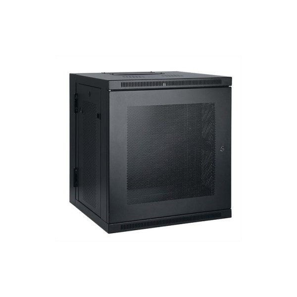 Tripp Lite 10u Wall-mount Server Rack Enclosure Cabinet With Hinged Profile And Switch