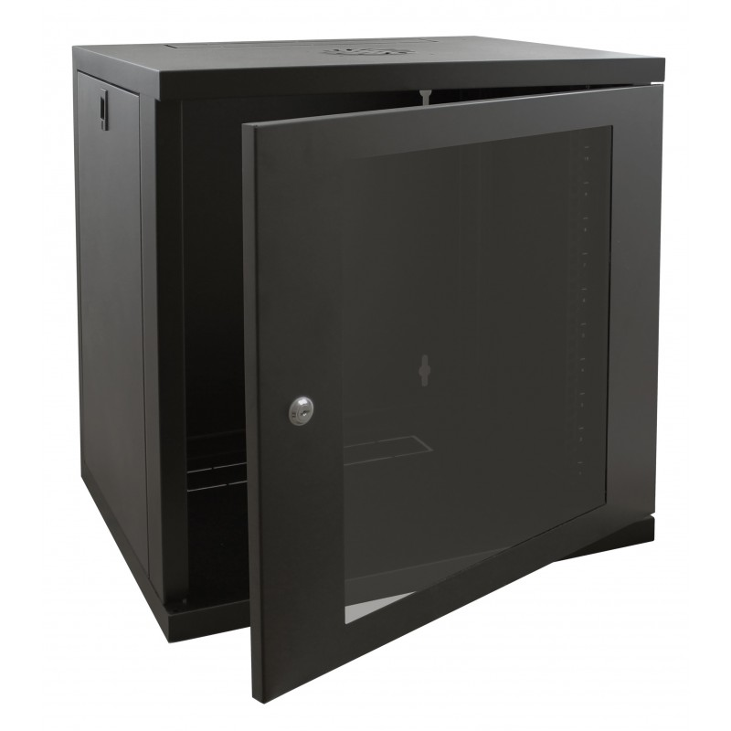 12u 450mm Deep Wall Mounted Data Cabinet  450mm Deep Wall