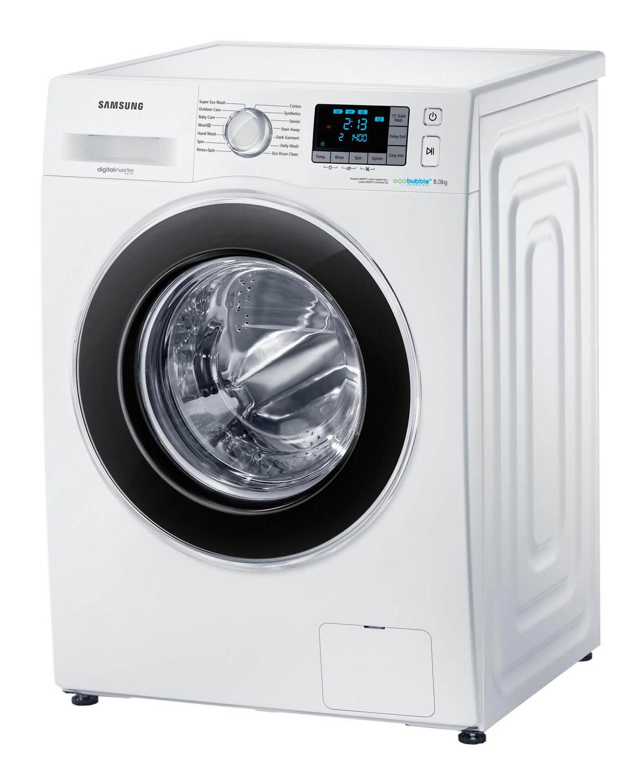 Samsung Wf80F5Ebp4W/Ws Waschmaschine Links | Nettoshop.Ch