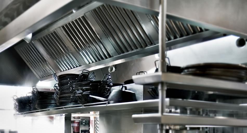 hotte aspirante cuisine professionnelle