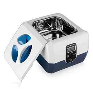 Floureon 1300ml Nettoyeur professionnel à Ultrasons Affichage Numérique en acier inoxydable et Plastique