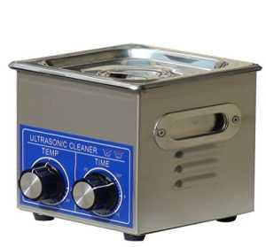 jakan ménage équipement Nettoyeur à Ultrasons en acier inoxydable, Acier inoxydable, gris, 1.3L Mechanical