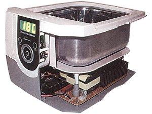RCE Bac nettoyeur à ultrasons avec écran LCD pour nettoyer cartouches, bijoux, montres, bracelets, têtes d'impression