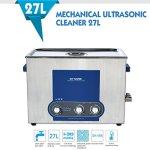 GT Nettoyeur à ultrasons 27L Puissance de Chauffage Minuterie Réglable Inoxydable Réservoir