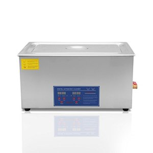 Ultraselect Nettoyeur à Ultrasons 30L Nettoyeur à Ultrasons Professionnels Commercial Nettoyage par Ultrasons pour Lunettes et Bijoux avec Minuteur de Chauffage Numérique(30L)