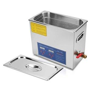 Ultraselect Nettoyeur à Ultrasons 6L Nettoyeur à Ultrasons Professionnels Commercial Nettoyage par Ultrasons pour Lunettes et Bijoux avec Minuteur de Chauffage Numérique(6L)