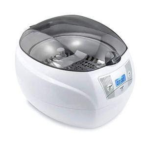Nettoyeur à Ultrasons, SKYMEN 750ml Appareil de Nettoyage pour Bijoux, Lunettes, Rasoirs, Dentiers, CD/DVDs