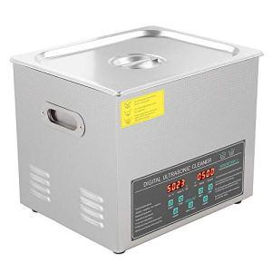10L Nettoyeur Ultrasons Nettoyeur Digital Affiche Ultrasonique Cleaner en Acier Inoxydable Outils de Laboratoire Instruments