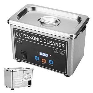 Certifications ROHS, FCC et CE Nettoyeur de lunettes à ultrasons Machine de nettoyage Nettoyeur à ultrasons Nettoyant Machine de nettoyage Bijoux Nettoyant Accueil Cleaner(EU)