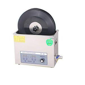CGOLDENWALL PS-30AL Nettoyeur à ultrasons en vinyle 6L Réglable puissance 20-80 °C Température constante 220V CE, Machine+Braket+Basket+(CD Drier for free)