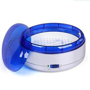 CSDY-Dentaire Accueil Utilisation multifonctionnelle Nettoyage Montre numérique Bijoux Baignoire réservoir Portable Mini Lunettes Nettoyeur à ultrasons Laver