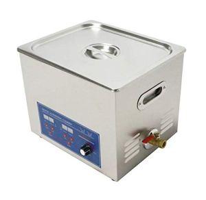 Haute qualité 120kHz haute fréquence multifonctionnel en acier inoxydable Digital nettoyeur à ultrasons 10L/14L/20L/30L avec un panier (30L)
