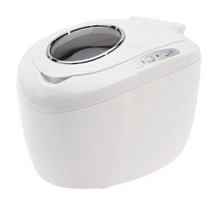 Industriel Qualité Nettoyeur à Ultrasons avec Chauffe-eau & Numérique Minuteur, 2Gal/7.5L, Lumière Gris Couleur, Plastique Panier