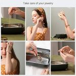 LLDKA Nettoyeur à ultrasons, Dispositif de Nettoyage de lentille de Lunettes Mini Nettoyeur à ultrasons pour Boucles d'oreilles Bijoux Coins Anneaux Colliers prothèses dentaires,Rose
