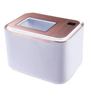 Nettoyeur à Ultrasons, Nettoyeur D'ozone Multifonctionnel Intelligent Pour Fruits Et Légumes (12L) (gris Clair)
