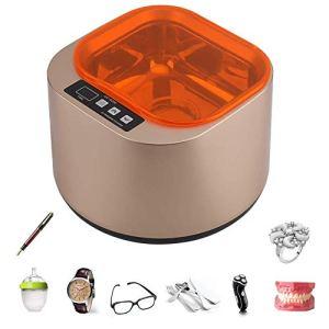 Nettoyeur à ultrasons professionnel 1400ML de laboratoire nettoyeur ultrasonique de bijoux avec une machine de nettoyage de minuterie numérique réglable pour le nettoyage de bijoux en verre montre d