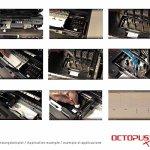 Octopus 100 ML nettoyant à gicleurs, Nettoyeur de têtes d'Impression pour Les têtes Epson avec Adaptateur de Tuyau