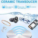 qingqingR 650ml Nettoyeur à ultrasons numérique Domestique 50W pour Nettoyer Les Lunettes de Bijoux