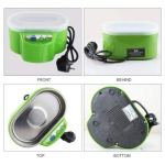 Smart Gadget Home Mini Nettoyeur À Ultrasons Double Puissance 30 W 50 W pour Bijoux Lunettes Composant Électronique Propre