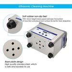 SOULONG 800 ML Nettoyeur à ultrasons en Acier Inoxydable avec écran numérique Machine de Nettoyage ultrasonique pour Montres Lunettes Bijoux