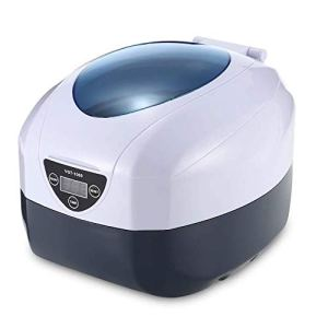 SHYPNA 750ml Machine Nettoyeur à ultrasons numérique, 40Khz Machine Nettoyeur de Bijoux, en Acier Inoxydable 304, minuterie numérique, Affichage LED, for Bijoux, dentiers, Lunettes