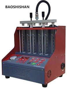 6Pot Auto LED testeur d'injecteur de carburant avec nettoyeur à ultrasons