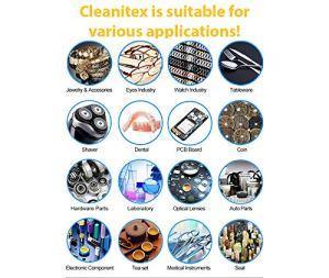 Cleanitex CXD3-3 litres | Appareil de nettoyage à ultrasons pour tout le monde (ultrasons, nettoyage à ultrasons, nettoyeur à ultrasons, ultrasons)