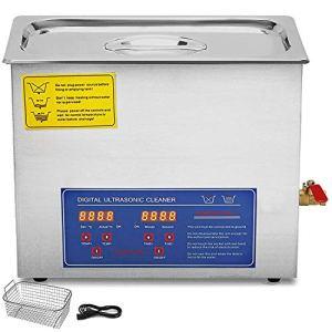 Nettoyeur A Ultrasons 10L Ultrasonic Cleaner Professionnel Nettoyeur Digital Affichage Ultrasonique (10L)
