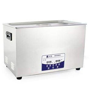 30L Professionnel Nettoyeur à Ultrasons Machine avec Numérique Pavé Tactile Minuteur Chauffé Acier Inoxydable Réservoir Capacité Réglable