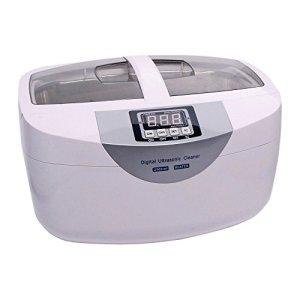 Nettoyeur à ultrasons puissant 170W affichage numérique grande capacité de réservoir 2500ml