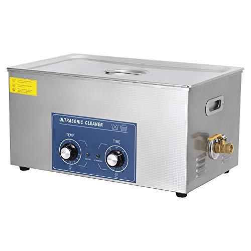 22L professionnel en acier inoxydable nettoyeur à ultrasons machine de nettoyage mécanique Chauffage Courroie réglable Qualité commerciale